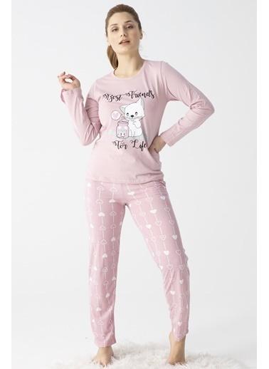 Pemilo Pijama Takım Pudra